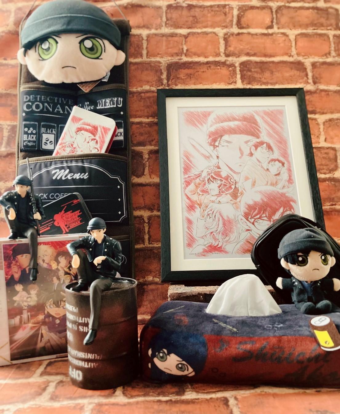 【特別展示】劇場版名探偵コナン「緋色の弾丸」グッズ展示