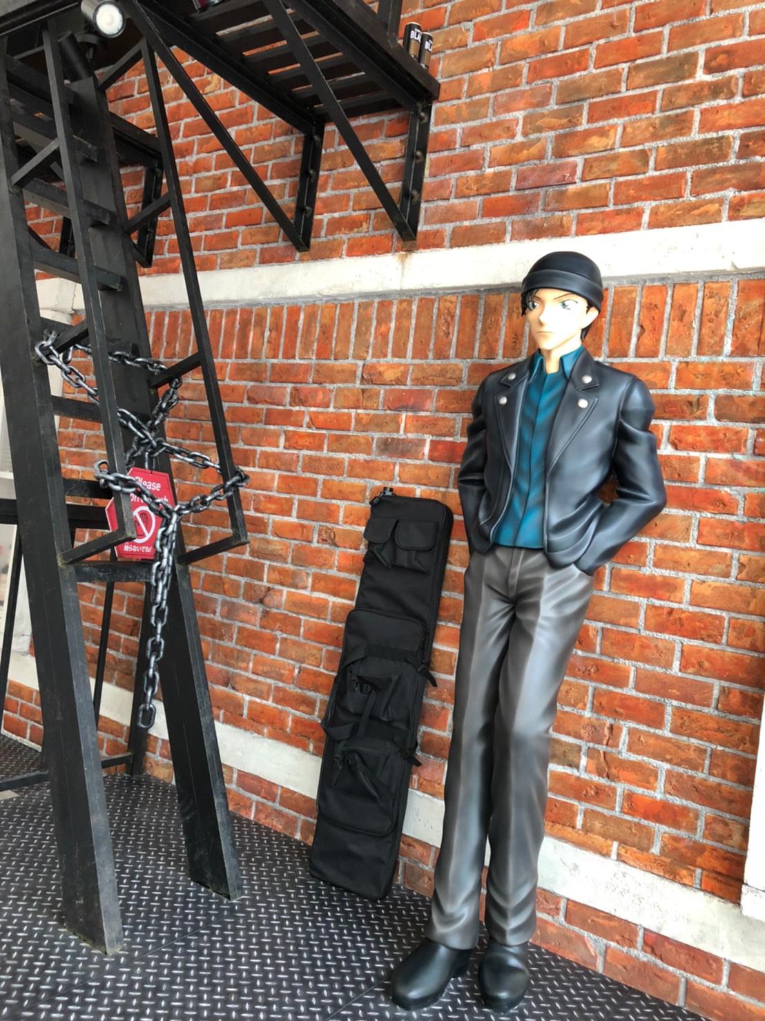 鳥取砂丘コナン空港の赤井秀一カラーオブジェお披露目式に行ってきました!