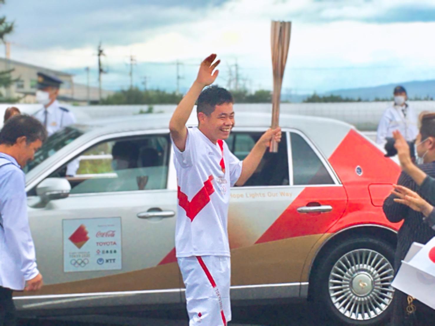 東京2020オリンピック聖火リレー☆彡