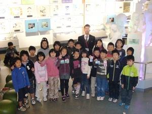 稲葉山小学校の子どもたちが来館...